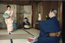 ②子ども歌舞伎の練習風景
