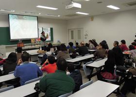 愛知工業大学での市民講座講演風景