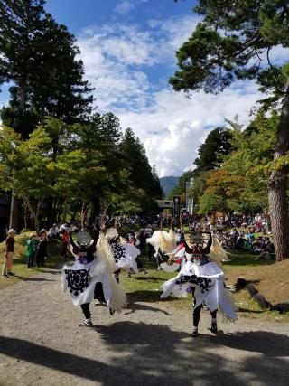 東禅寺しし踊り
