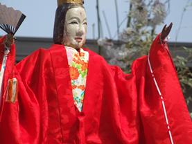 天津司舞の「御姫様」(おひめさま)