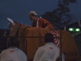 豊年祝(ほうねんいわい)に登場する神馬