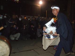 赤塚の田遊び「駒」