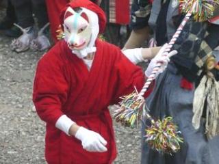 Resized 「お神楽」の狐