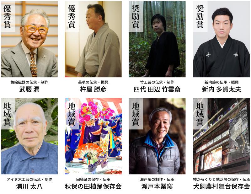 第41回伝統文化ポーラ賞集合